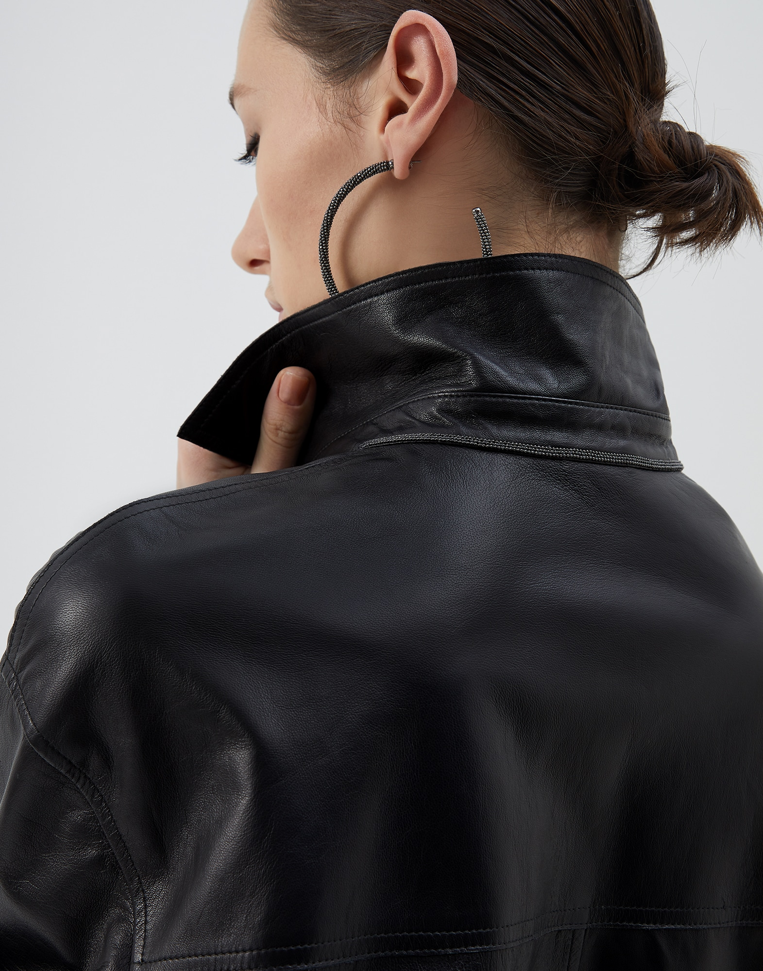Leather Black Woman 3 - Brunello Cucinelli