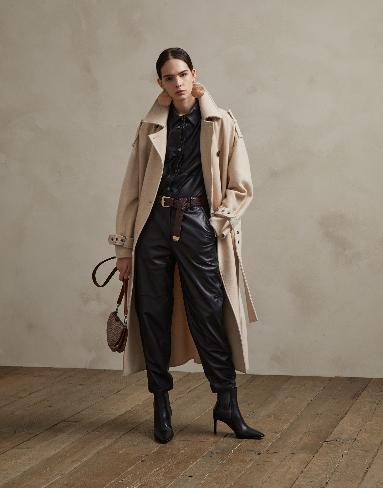 Coat Beige Woman 3 - Brunello Cucinelli