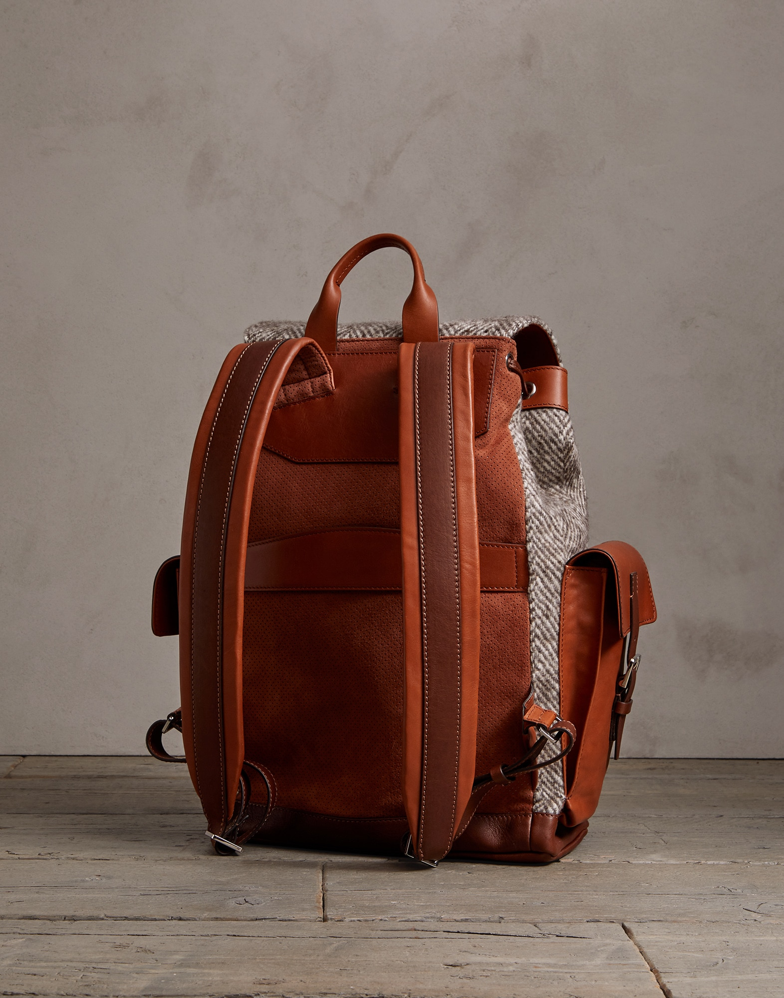 Backpack Brown Man 2 - Brunello Cucinelli
