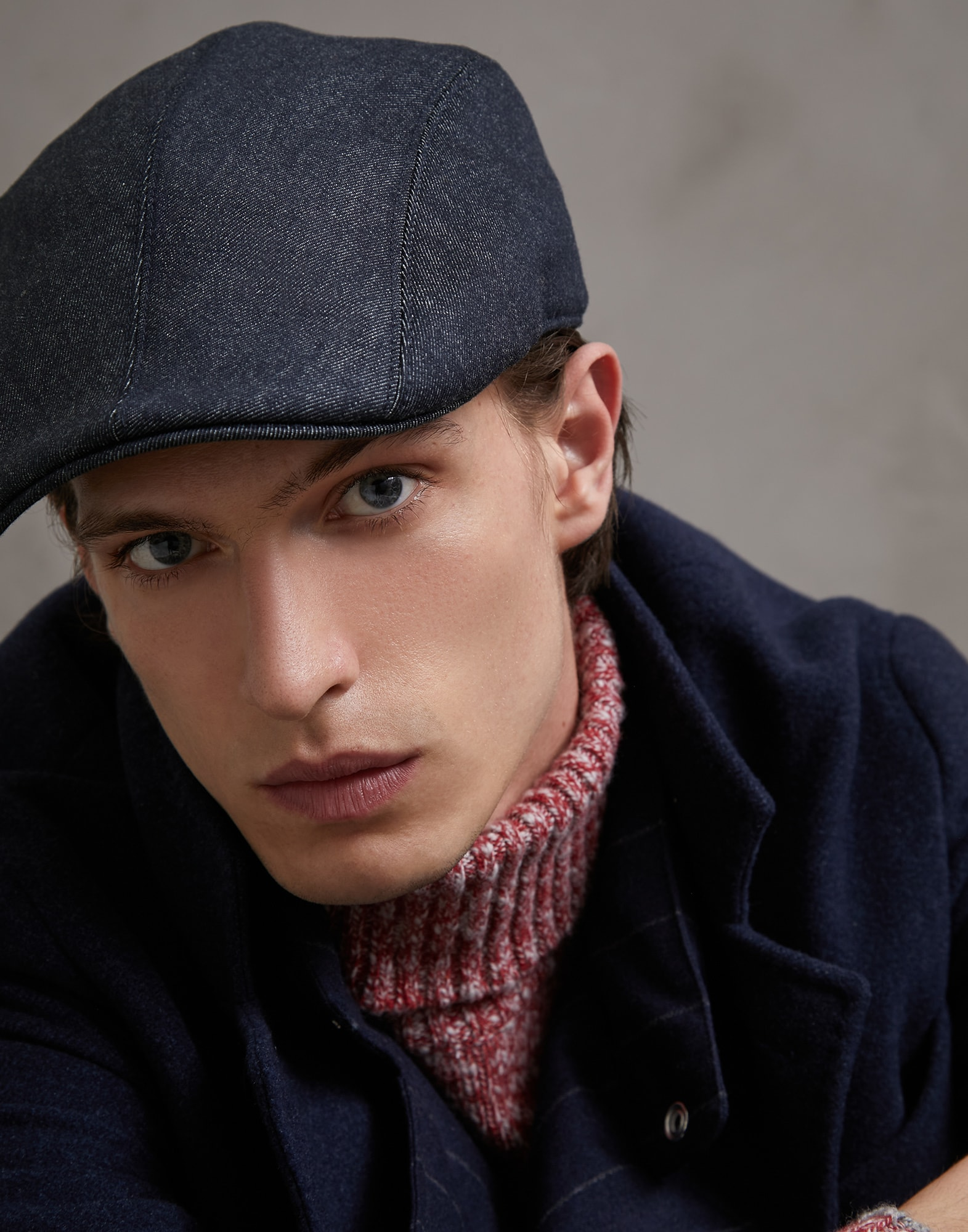 Hat Denim Man 2 - Brunello Cucinelli