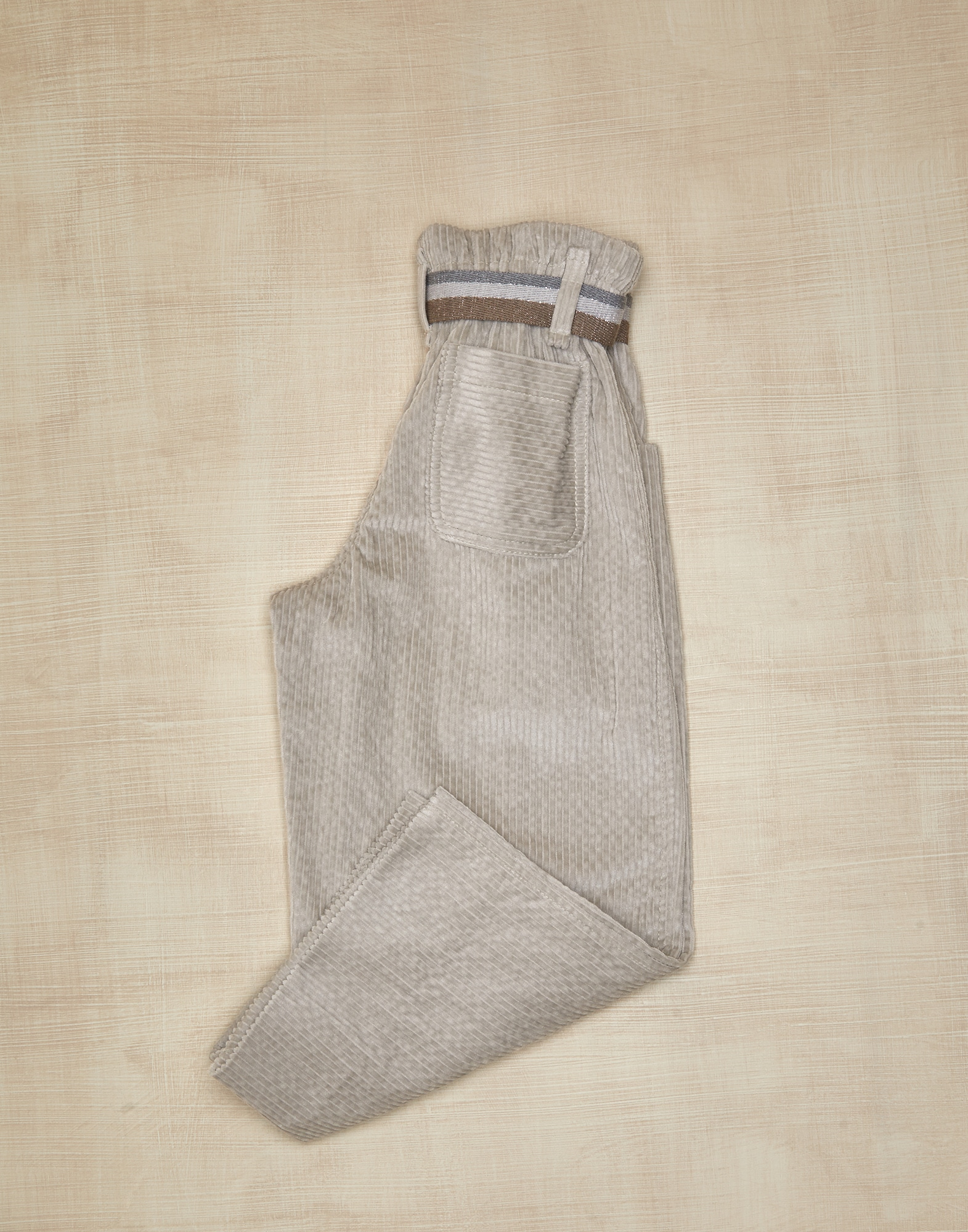 Trousers Light Brown Girl 1 - Brunello Cucinelli