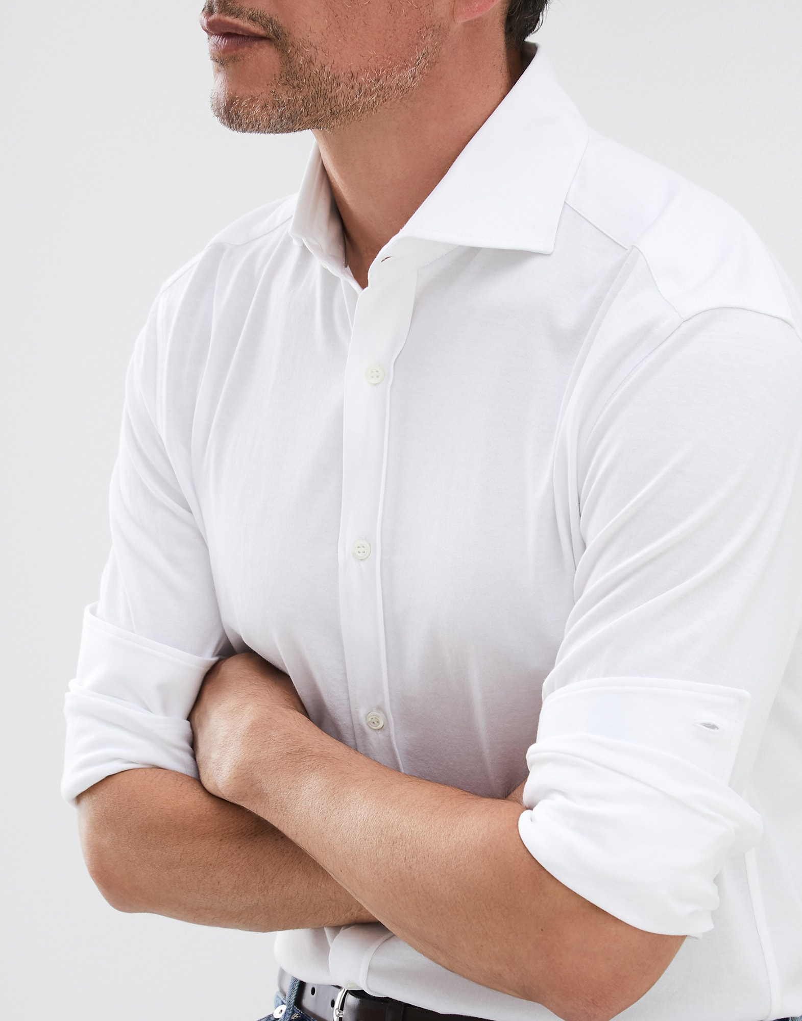 French Collar Shirt - Detail view