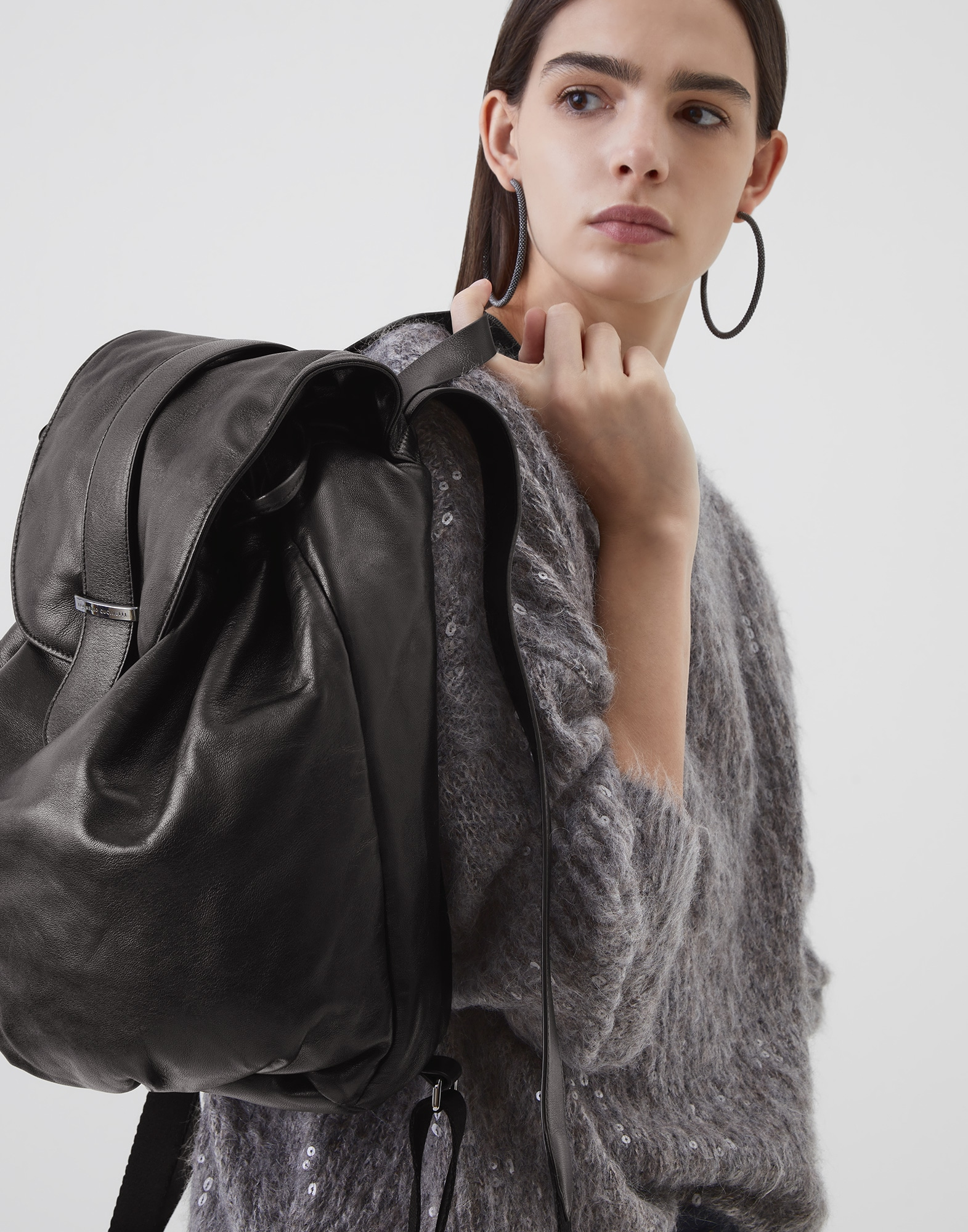 Backpack Black Woman 4 - Brunello Cucinelli