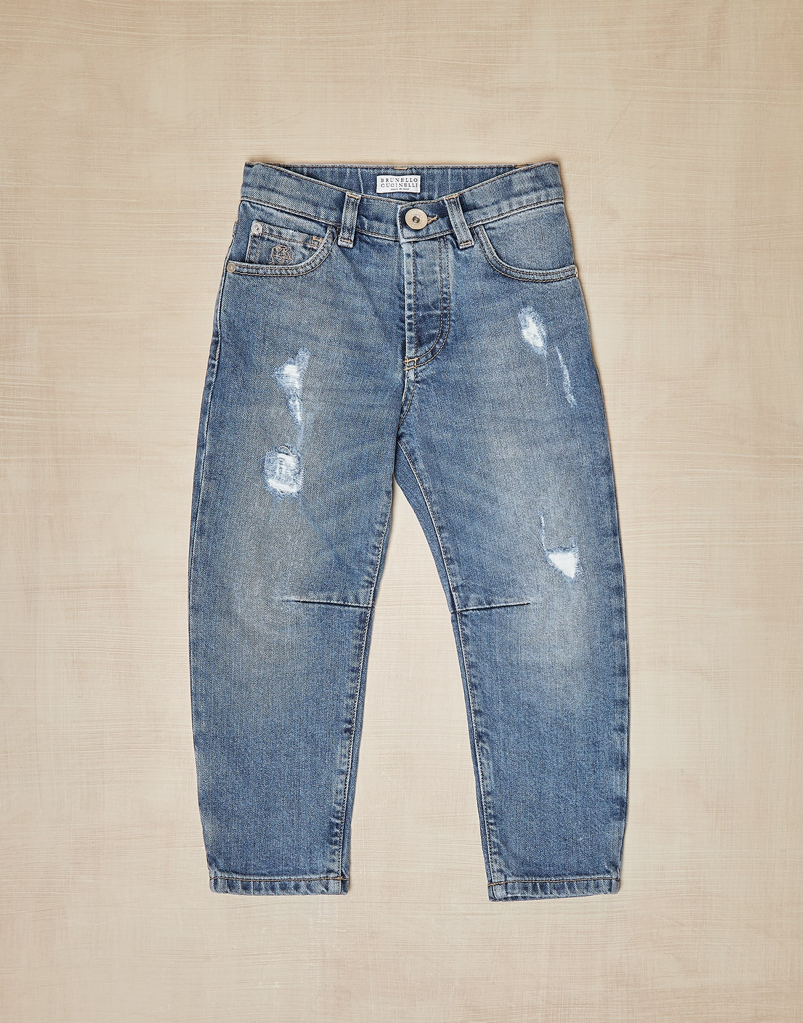 Denim trousers - Front view