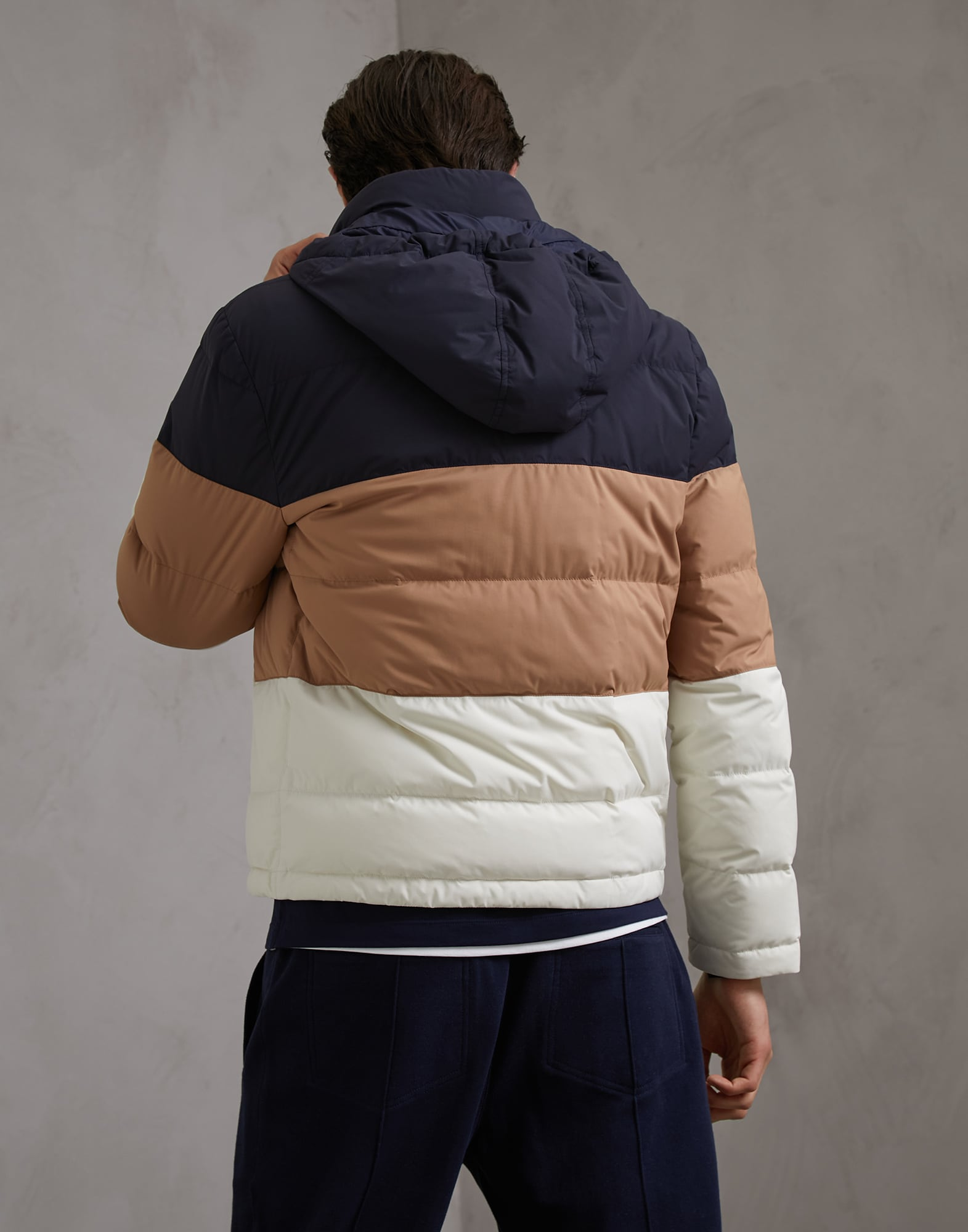 Down Jacket Off-White Man 2 - Brunello Cucinelli