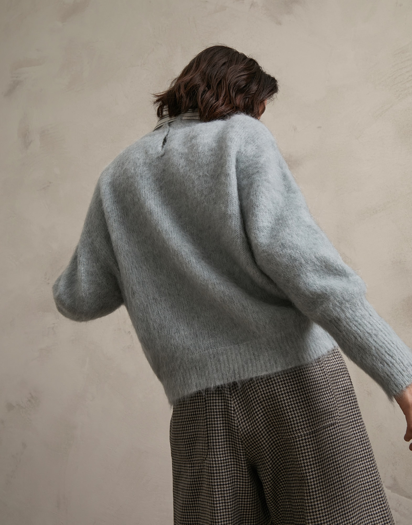 Crewneck Sweater Water Woman 2 - Brunello Cucinelli