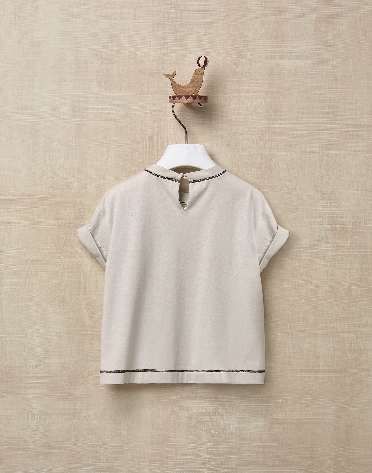 T-Shirt Rice Girl 1 - Brunello Cucinelli