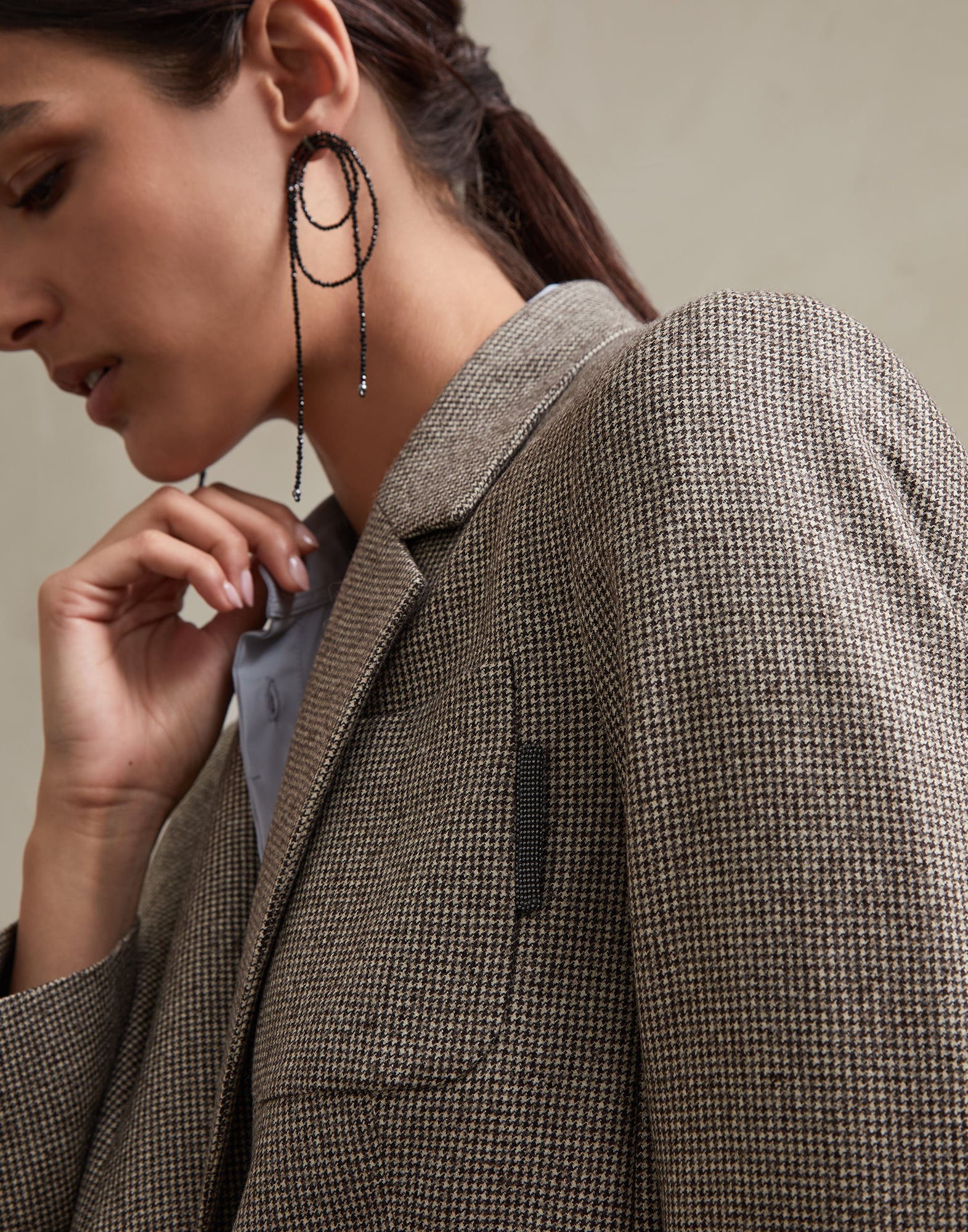 Blazer Brown Woman 2 - Brunello Cucinelli