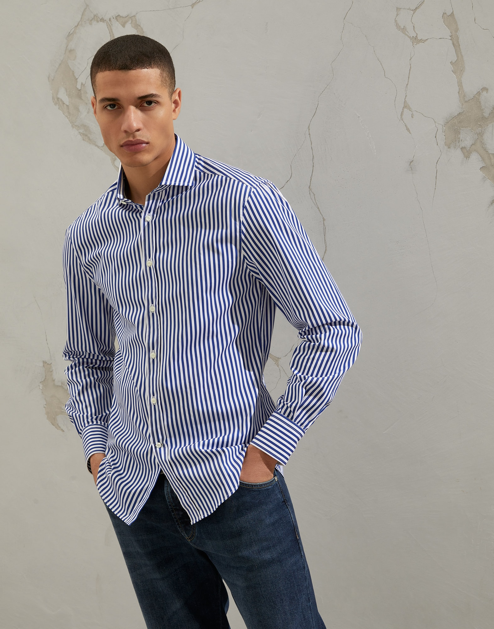 French Collar Shirt - Front
