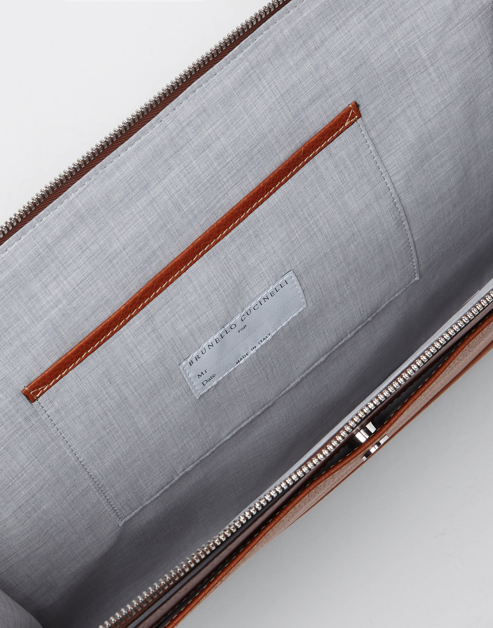 Document Holder Rum Man 2 - Brunello Cucinelli