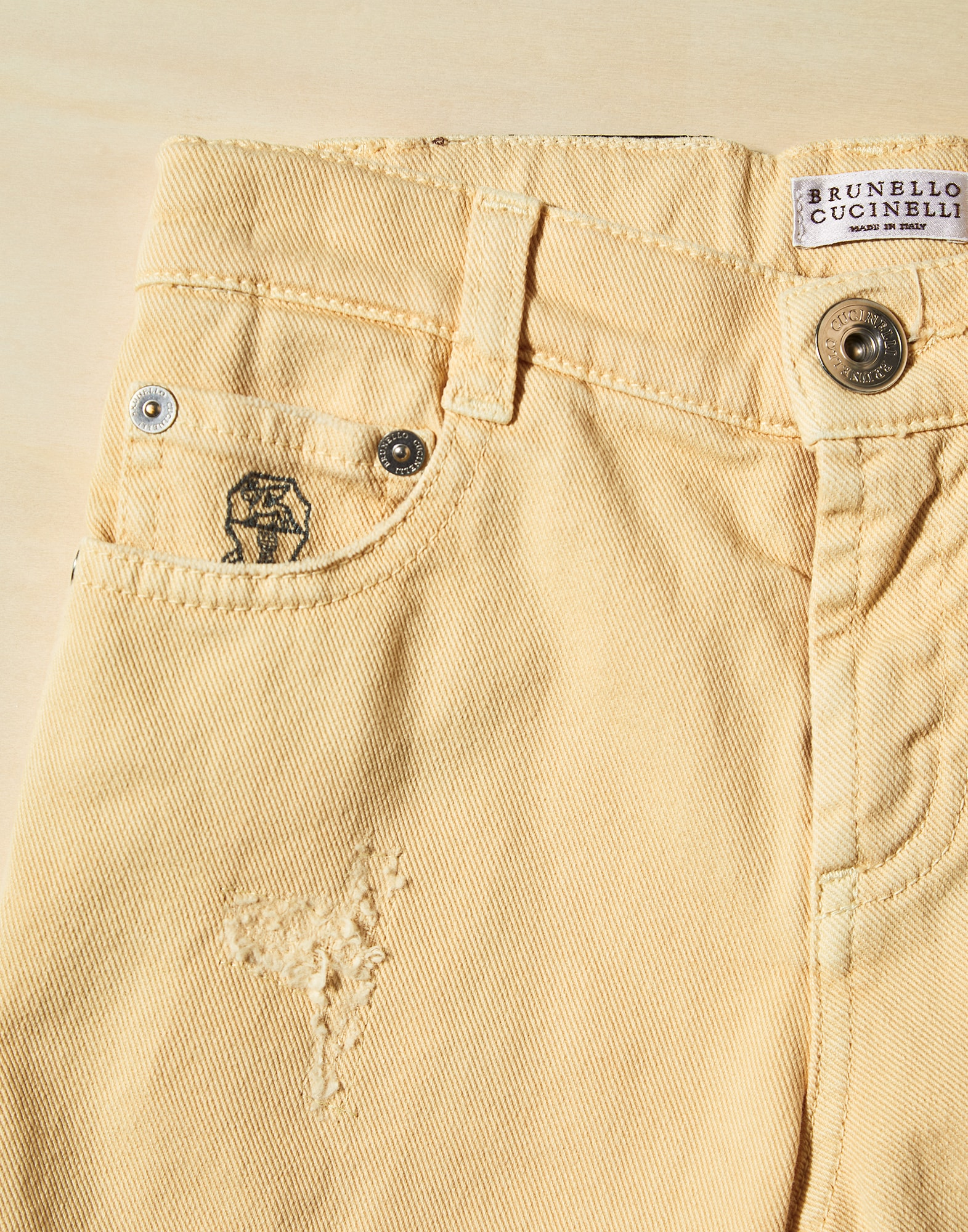 Denim Pants - Detail view
