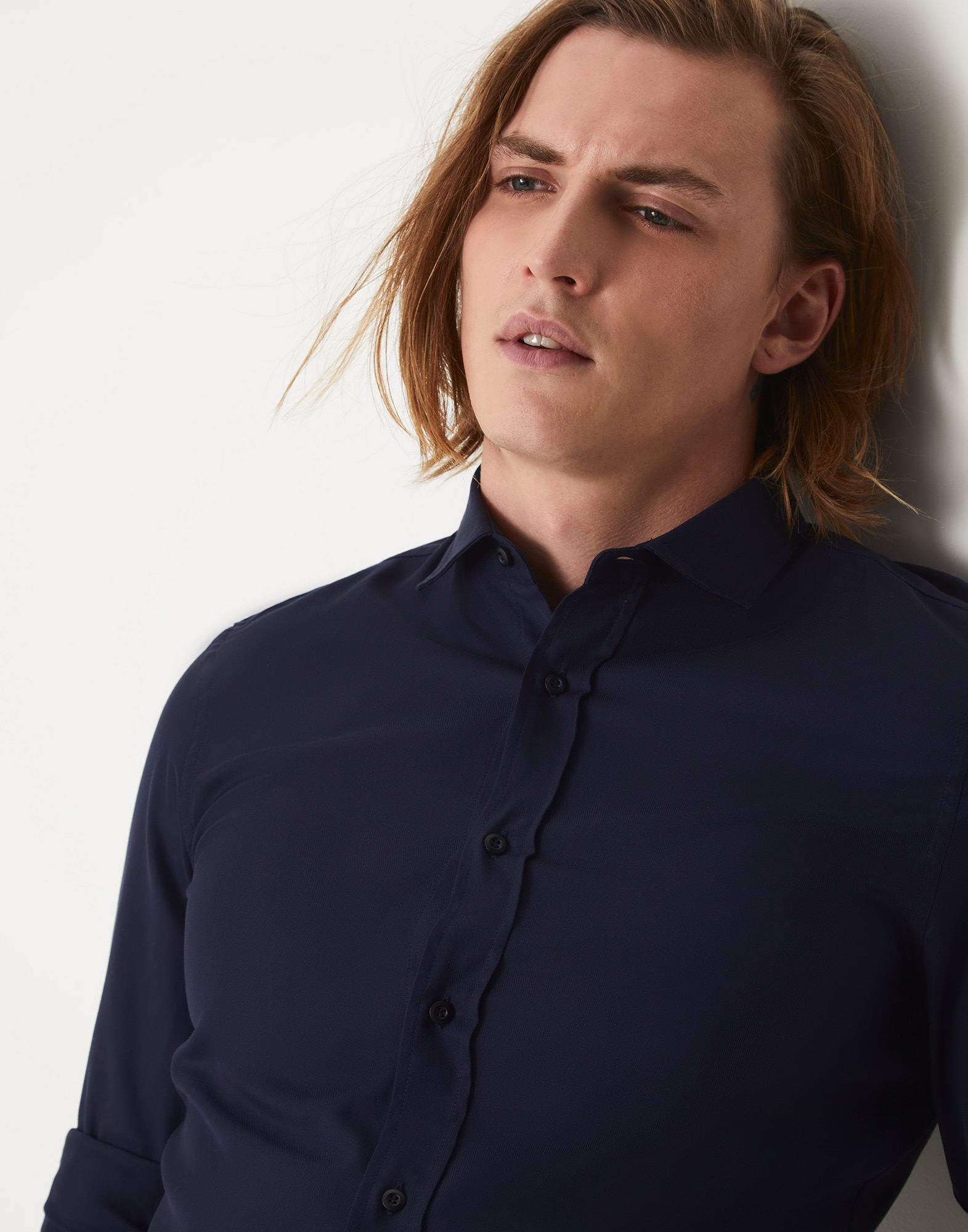French Collar Shirt - Detail