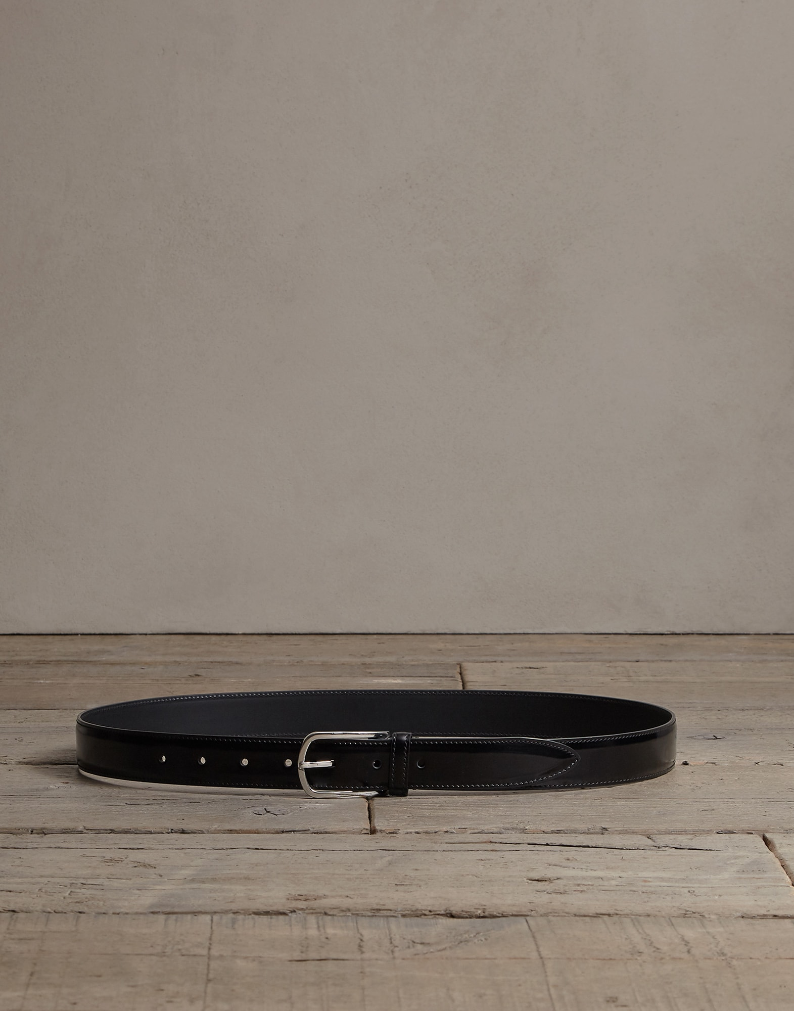 Belt Black Man 0 - Brunello Cucinelli