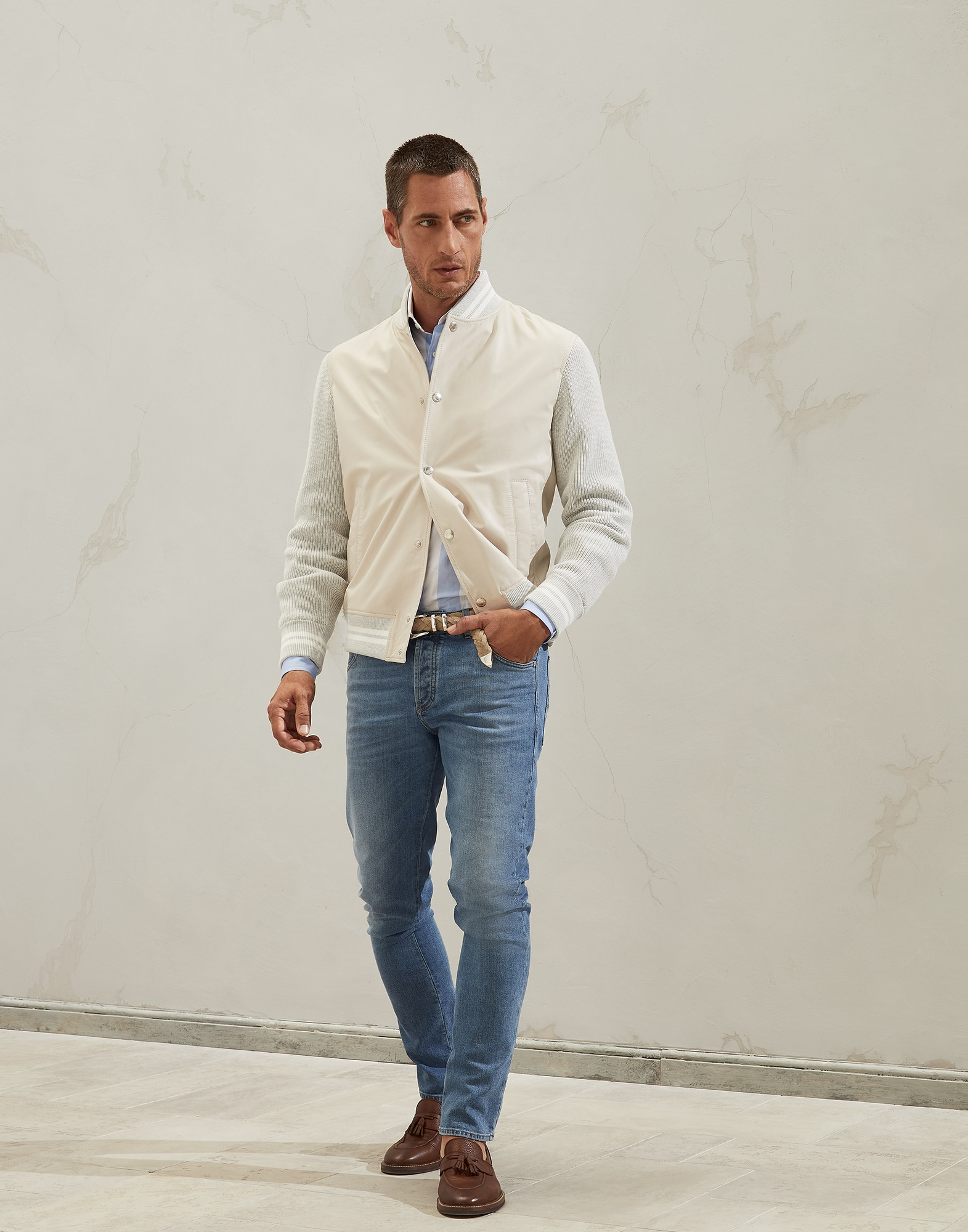 French Collar Shirt - Look