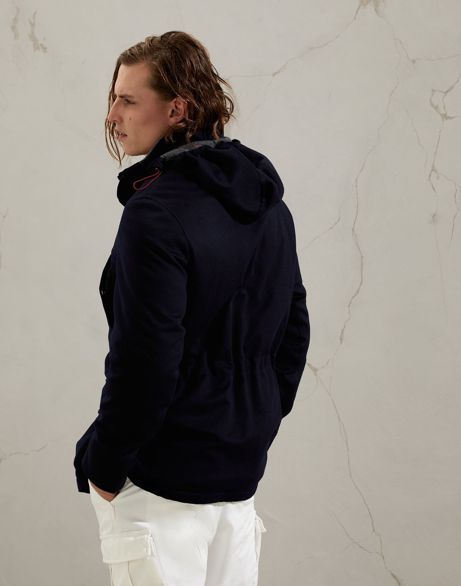 Parka - Back view