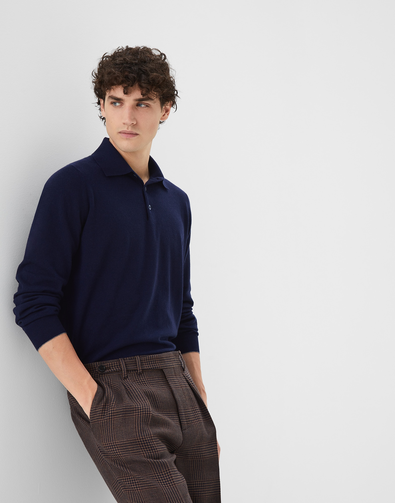 Polo-Style Sweater - Editorial