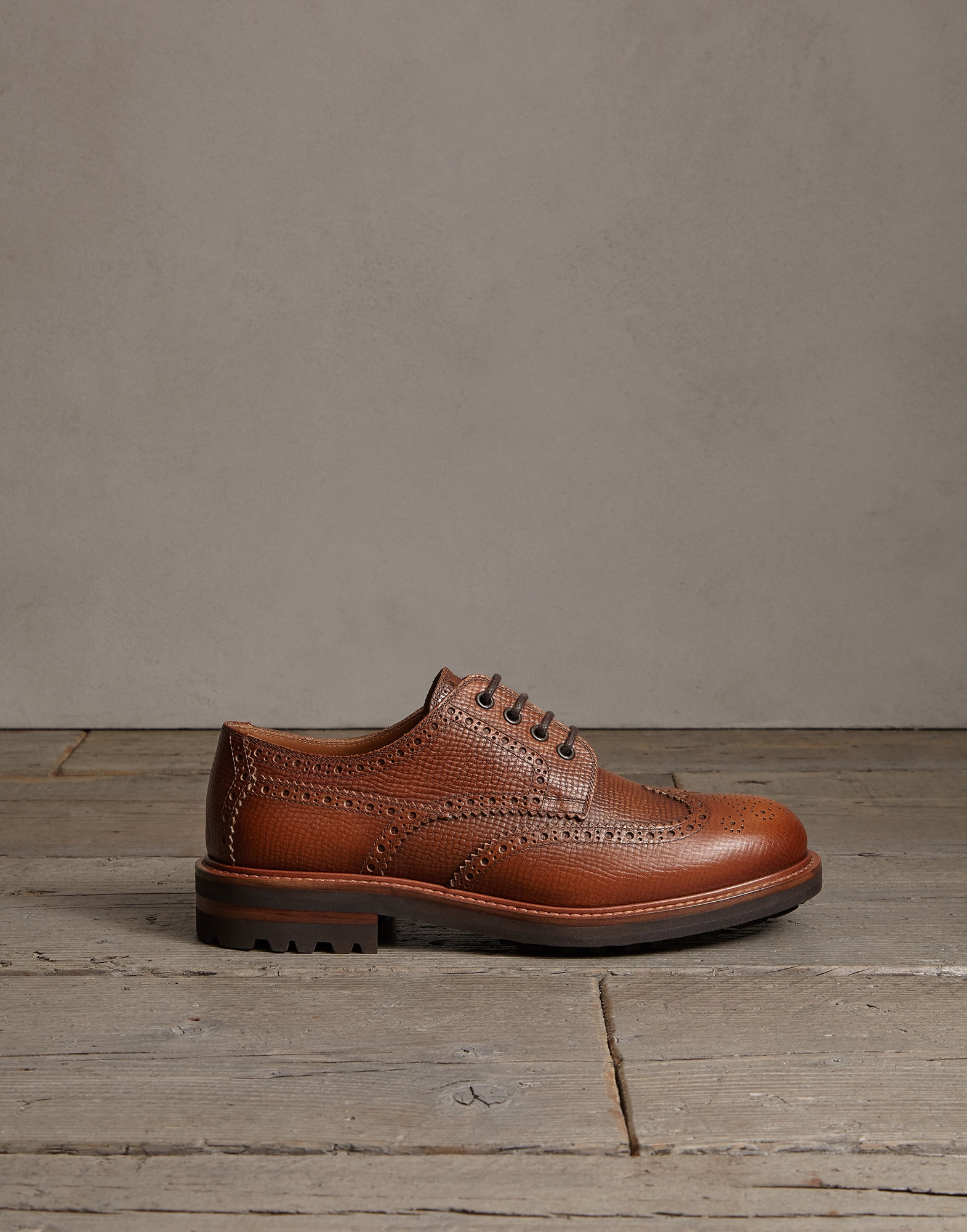 Lace-Ups Leather Man 3 - Brunello Cucinelli