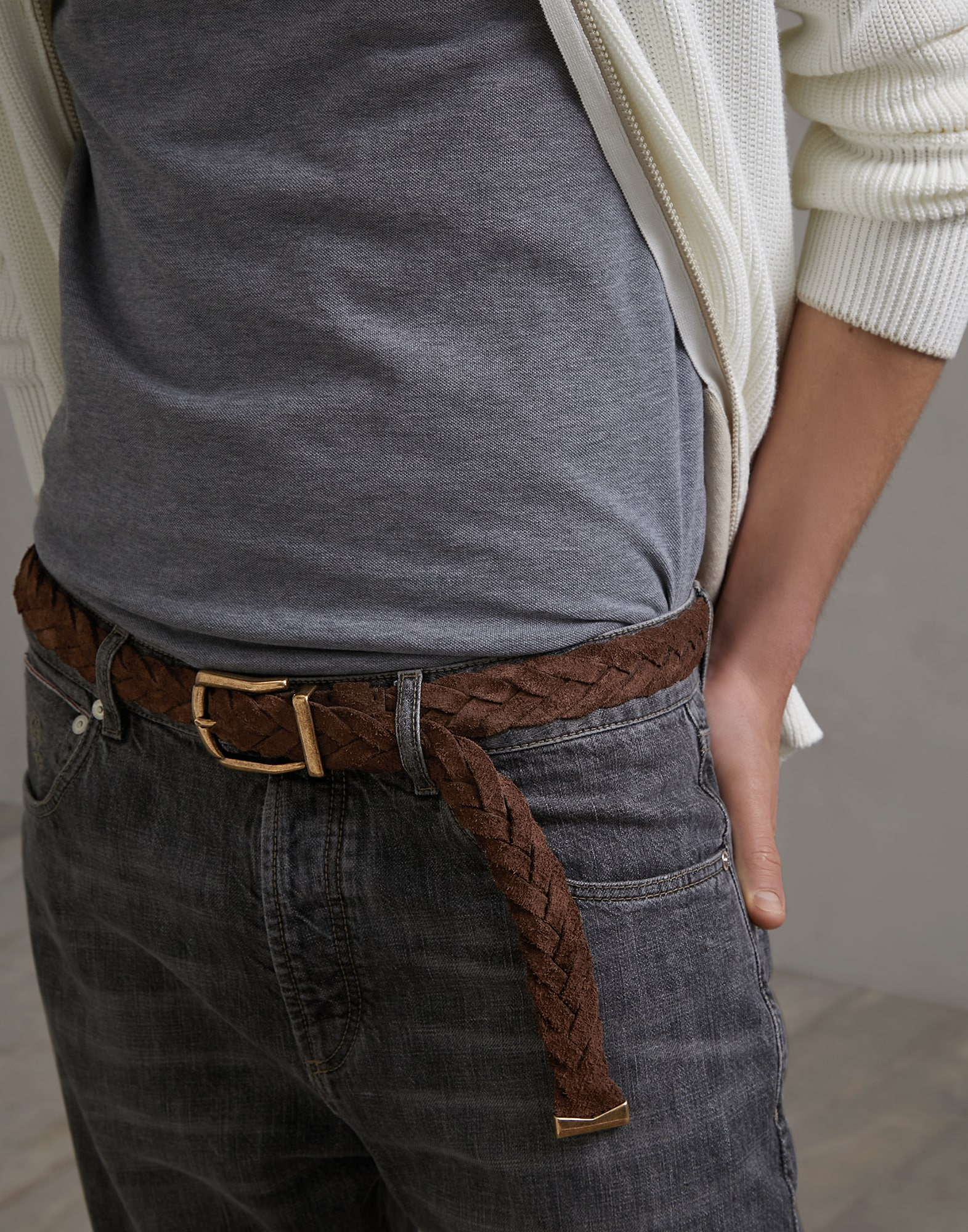 Belt Chestnut Man 2 - Brunello Cucinelli