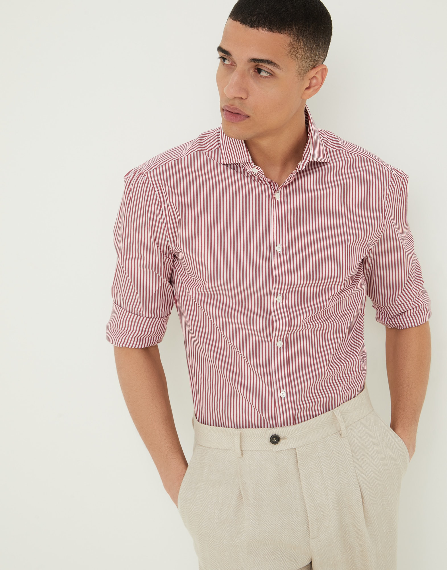 French Collar Shirt - Editorial