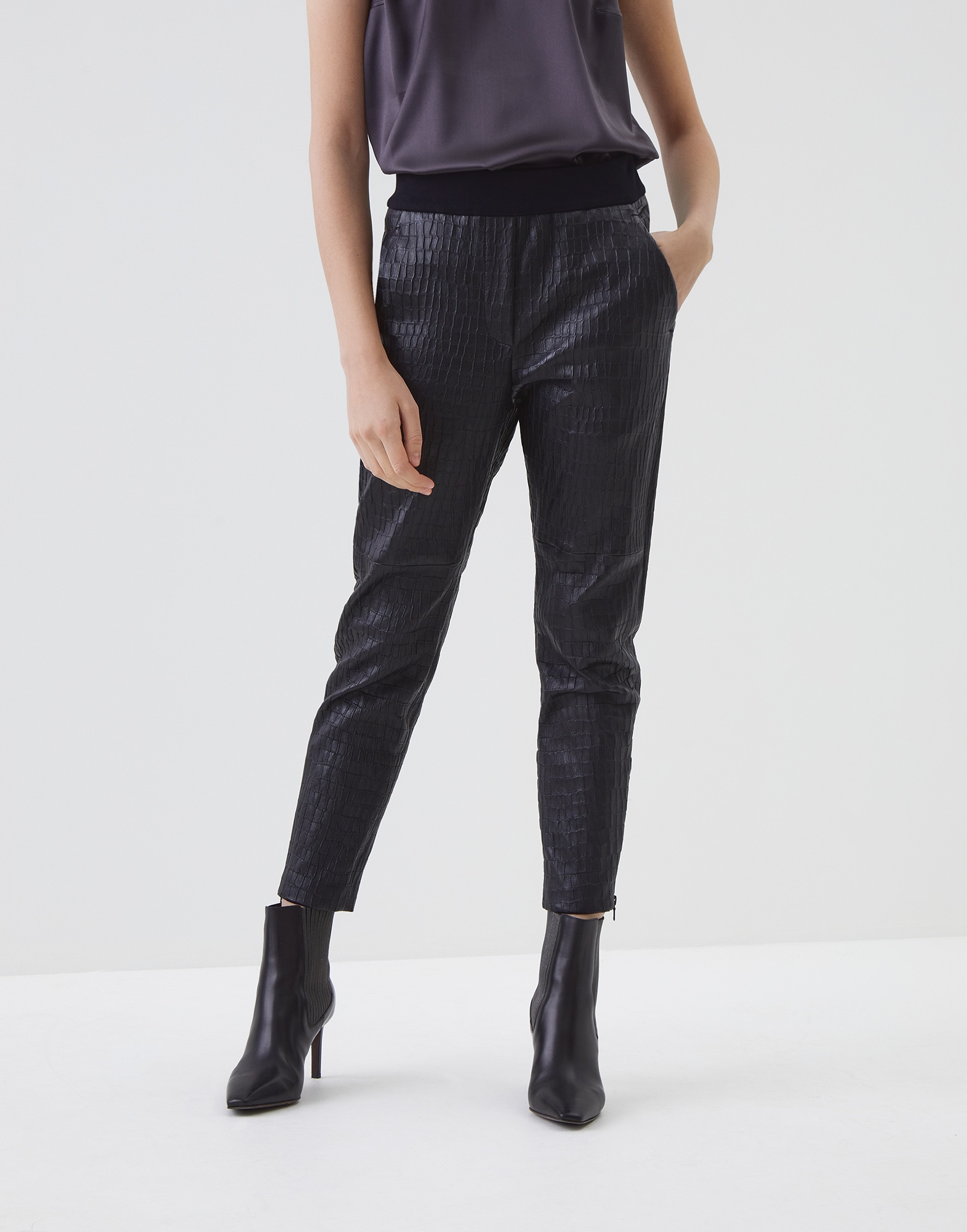 Leather Trousers - Front