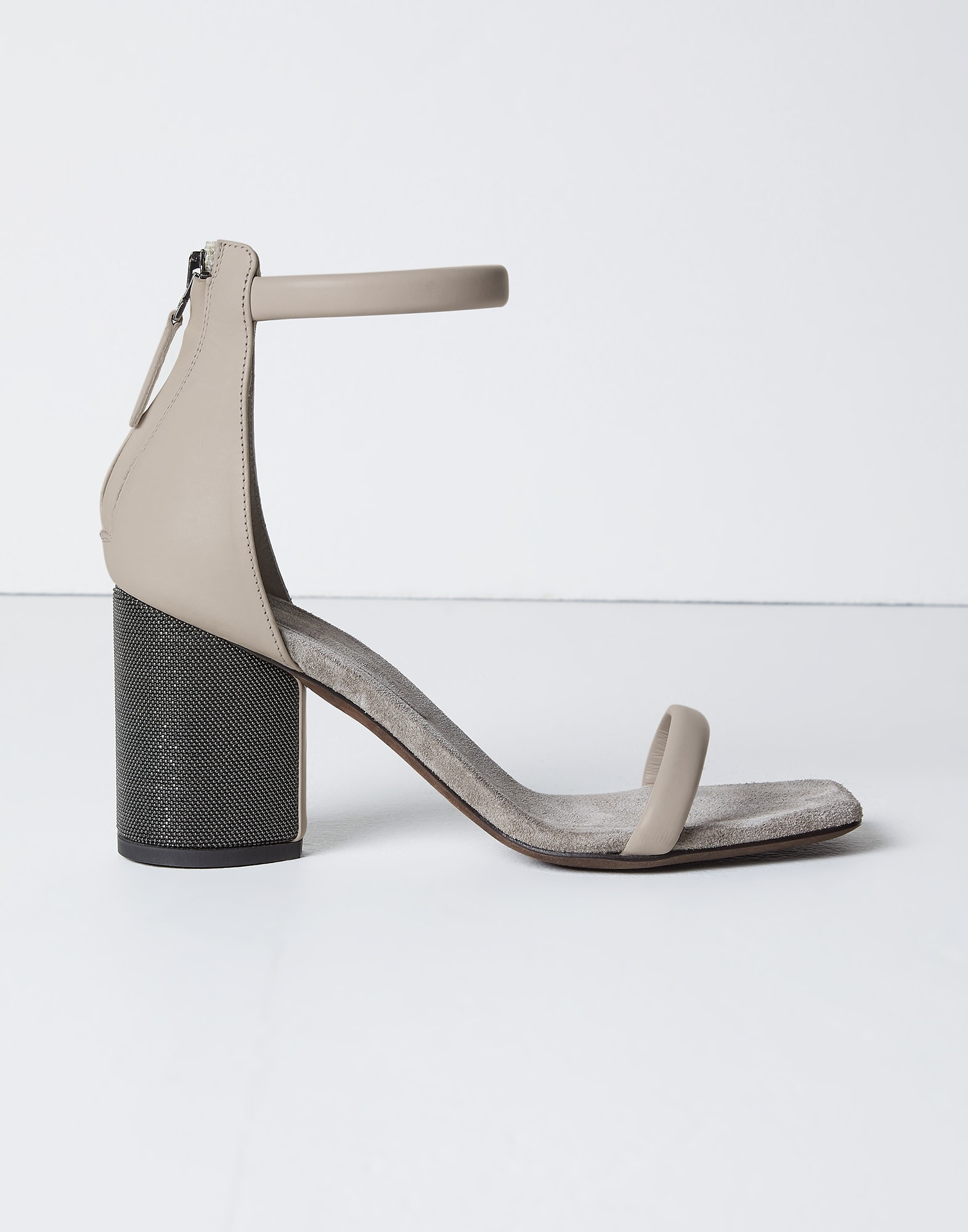 Heels Chalk Woman 3 - Brunello Cucinelli