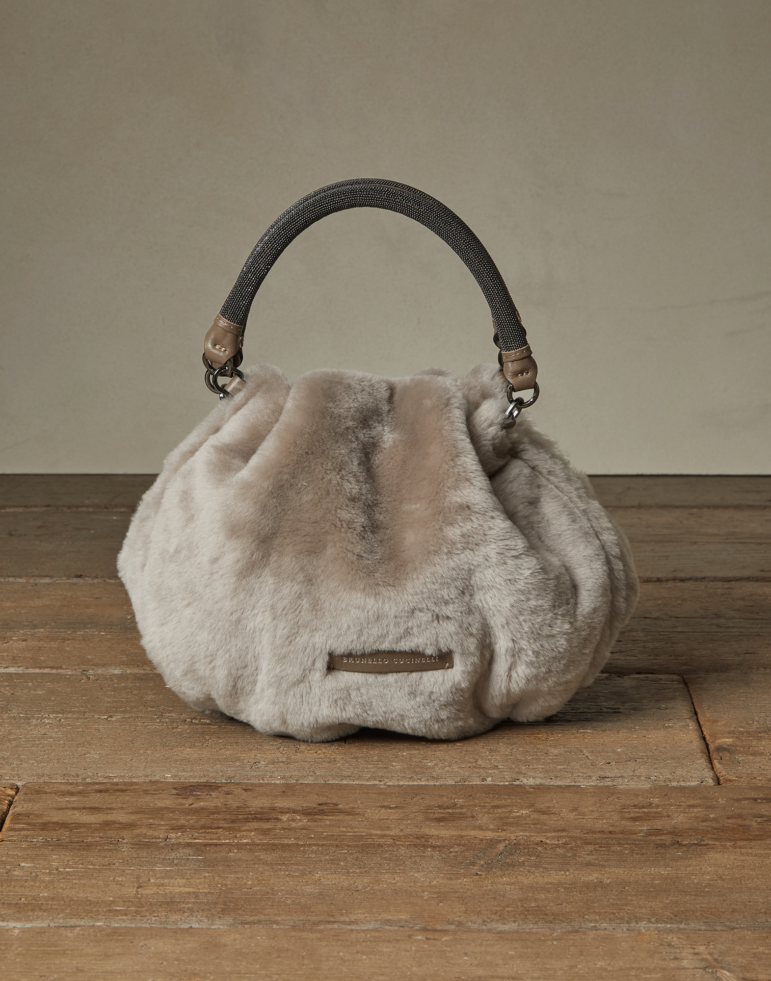 Shopper Bag Light Brown Woman 0 - Brunello Cucinelli