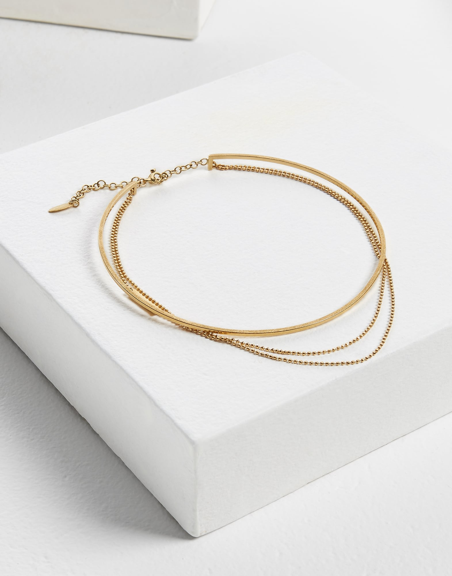 Necklace Gold Woman 1 - Brunello Cucinelli