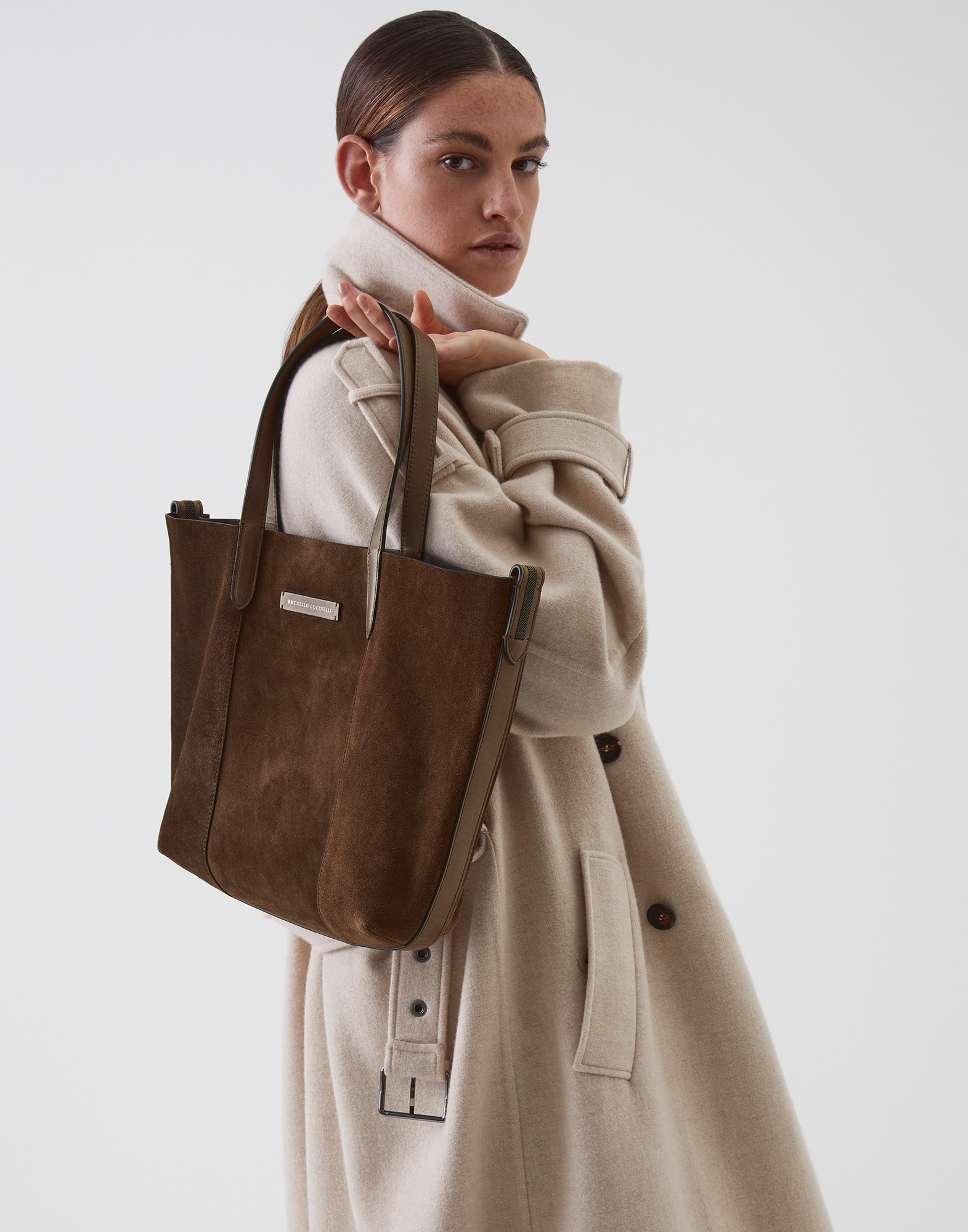 Shopper Bag Cigar Woman 4 - Brunello Cucinelli