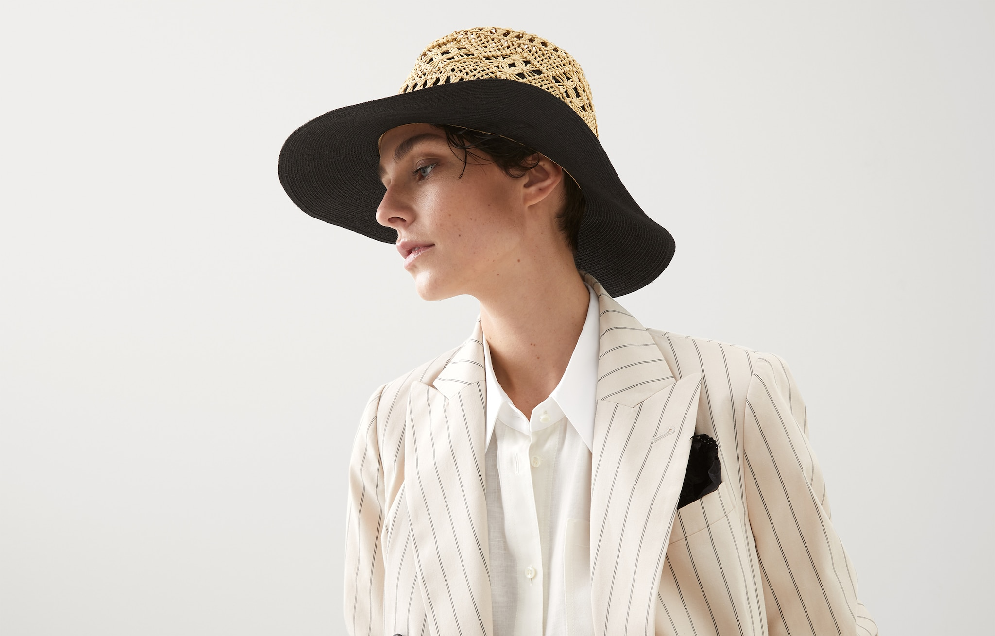 Hat - Horizontal view