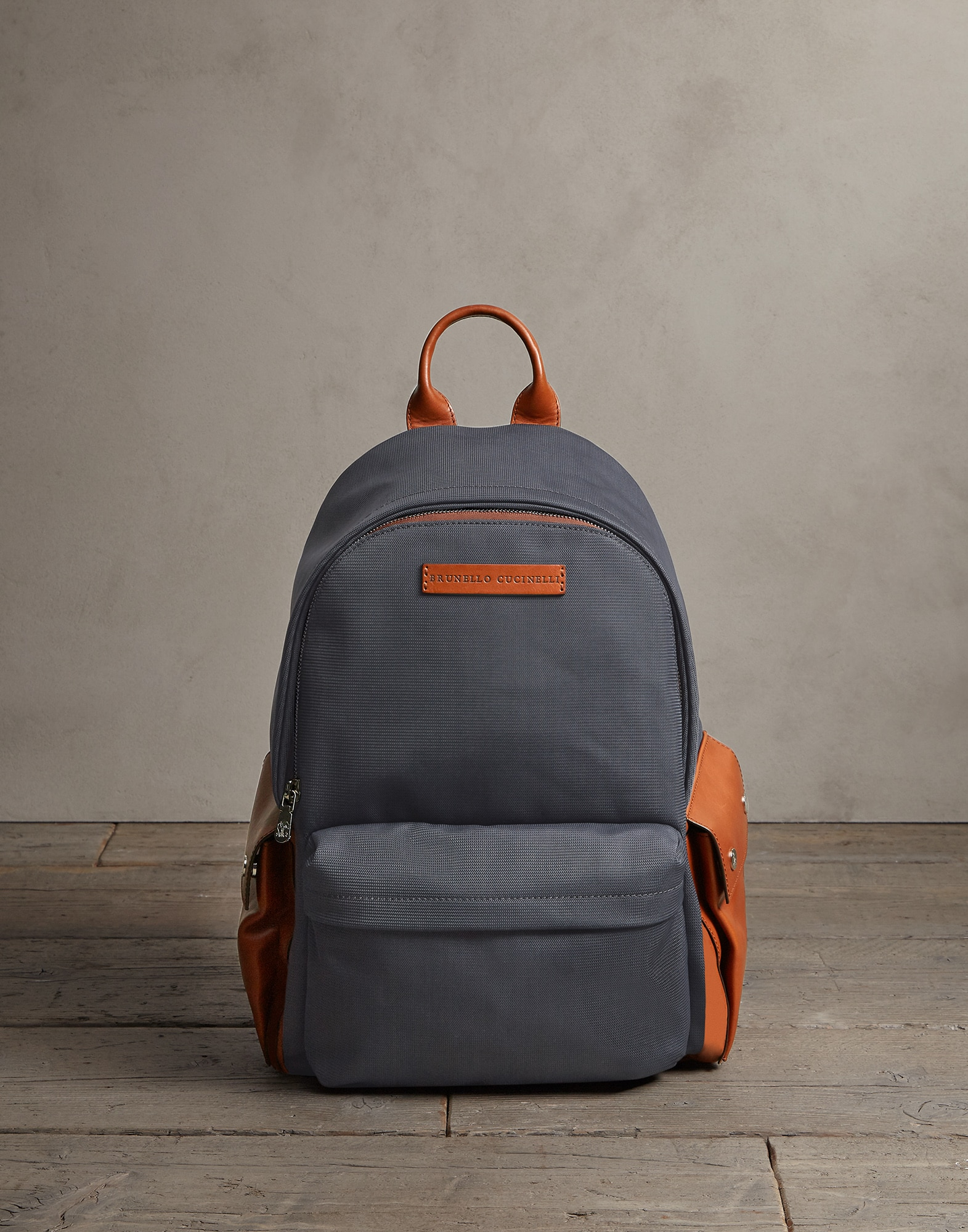 Backpack Lead Man 1 - Brunello Cucinelli