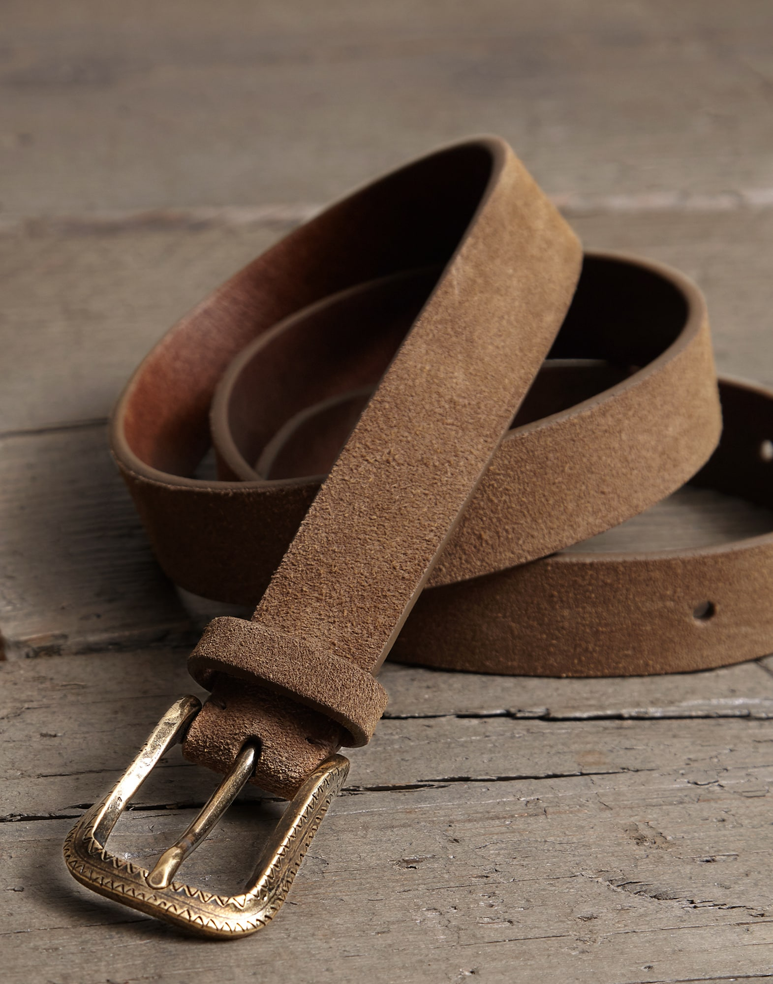 Belt Dove Grey Man 1 - Brunello Cucinelli