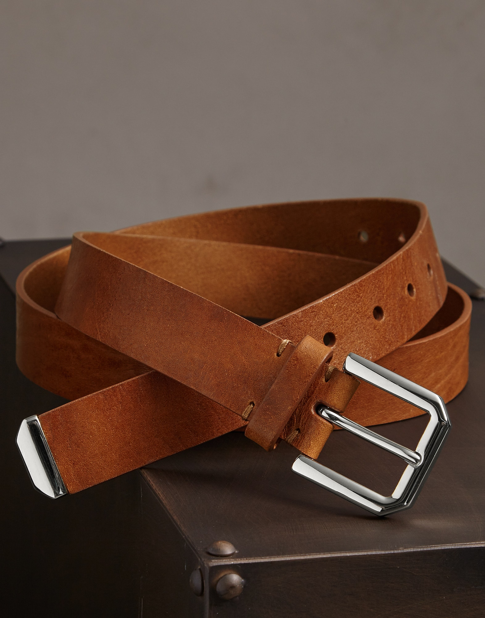 Belt Crumble Man 1 - Brunello Cucinelli