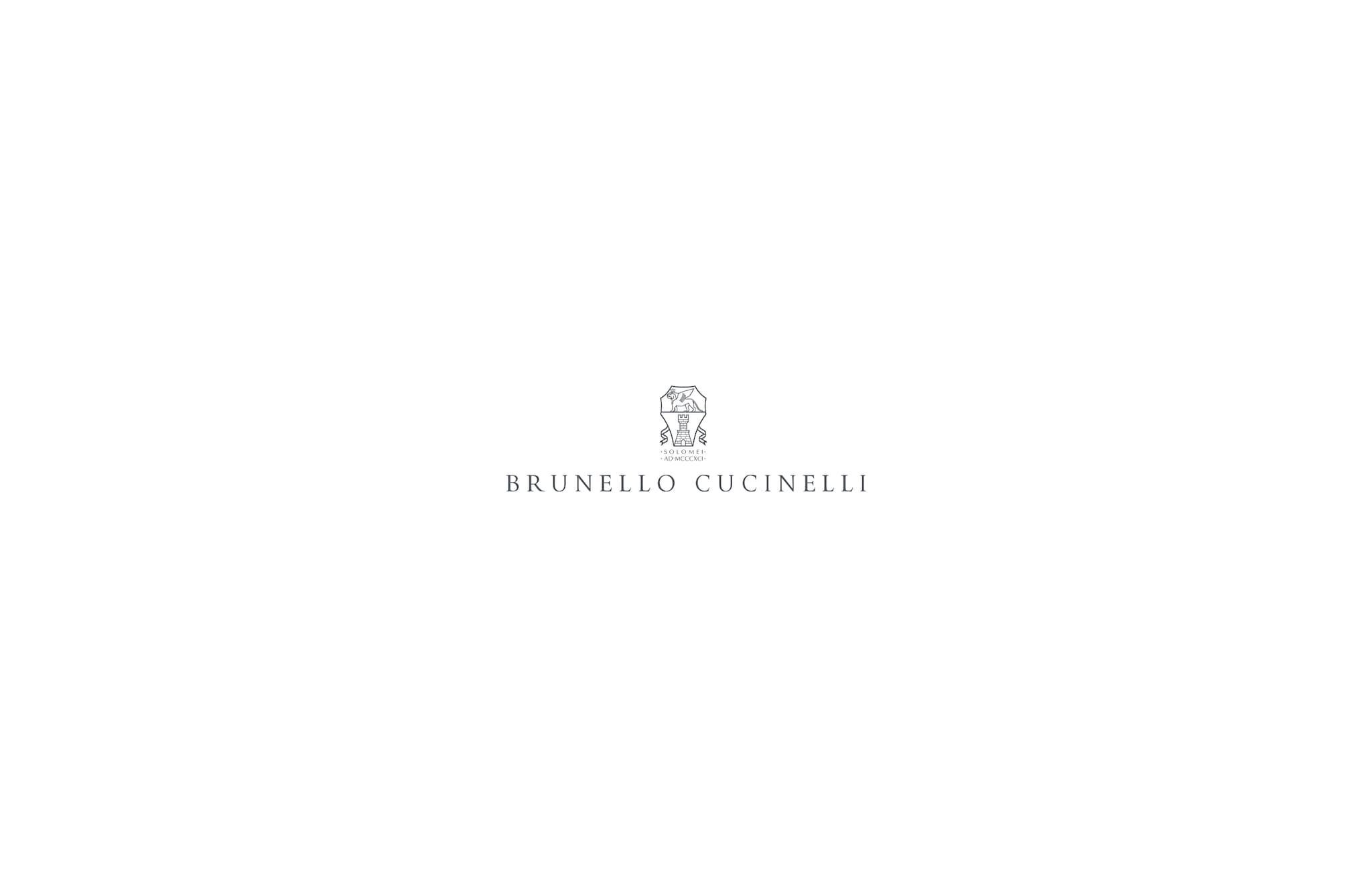 Plaid en maille Marron Lifestyle - Brunello Cucinelli